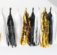 Tissue Tassels Paper Garland Bunting Wedding Party Xmas Decoration