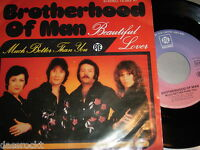 "7"" - Brotherhood of Man / Beautiful Lover & Much better than you - MINT # 0306"
