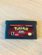 Pokemon: Ruby Version - Nintendo Gameboy Advance GBA Video Game - FAST Dispatch!