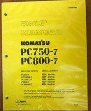 Komatsu PC750-7/LC/SE-7, PC800-7/SE-7 Service Manual