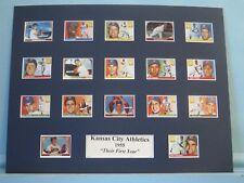 1955 Kansas City Athletics - Their First Year in Kansas City