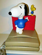 Vintage Large Snoopy Character Button Phone - Peanuts Collectible Charlie Brown