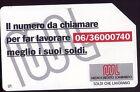 SCHEDE TELEFONICHE SIP☎PRP OMAGGIO PRIVATE MEDIOCREDITO 199/C&C 3292 CAT.120€#