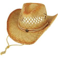 Mega Cap Outback Straw Cowboy Hat Tea