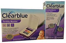 Clearblue Advanced Fertility Ovulation Monitor +20 Fertility &4 Pregnancy Sticks