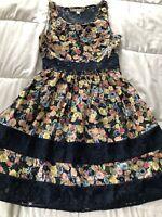 LC Lauren Conrad Dress with Floral Print Size 2