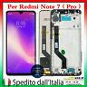 DISPLAY PER XIAOMI REDMI NOTE 7 / 7 PRO LCD TOUCH SCREEN VETRO SCHERMO CON FRAME