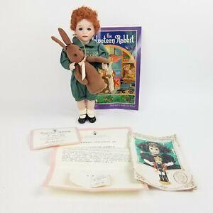 "The Velveteen Rabbit Wendy Lawton 14"" Porcelain Doll, Childhood Classics 213/750"