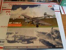 Hobby Master 1/72 Air Power Series HA1803 Bf-110G-4, G9+EF, Heinz-Wolfgang