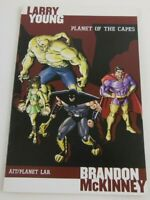 Planet of the Capes Comic TPB AIT Planet Lar SIGNED Larry Young Graphic Novel
