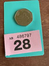 2018 Mrs Tittlemouse 50p Coin, Beatrix Potter Peter Rabbit Fifty Pence