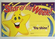 TREND AWARDS STAR OF THE WEEK 30/PK 5 X 8 (plus 10 extra for FREE)