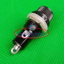 2pcs Fuse holder 10A 250V 15A 125V 6×30mm Black