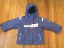 Columbia Winter jacket, size 2t blue toddler, 3 In 1 Puffy With Shell