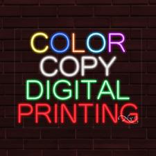 Brand New Color Copy Digital Printing 31x24x1 Inch Led Flex Indoor Sign 31681
