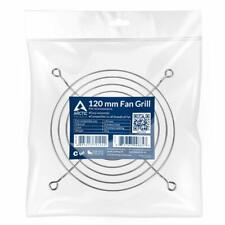 Parrilla del ventilador de PC Arctic 120mm, Plata, compatible con todos los ventiladores de la carcasa de PC 120mm 12cm