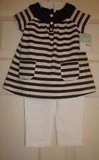 Carter'S~girl's ~2Pc/Summer/Pants/&/To p! (18/Mo) N/W/Tags! $34.00 Really/Cute!