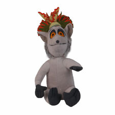 "Madagascar Figure Plush Doll King Julien 12"" Stuffed Animal Doll"