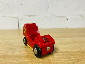 BRIO Light Up Sounds Fire Engine Truck Compatible Thomas Wooden Railway Trains