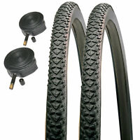 Cyclocross Vélo Pneus /& Schrader Tubes 700 X 38 C Impac CROSSPAC Hybride CX Paire