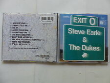 CD Album STEVE EARLE & THE DUKES Exit O MCAD 5998