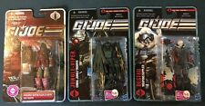 HASBRO GI JOE 2010 2011 LOT OF 3 Destro Jungle Viper Iron Grenadier Figures Hub