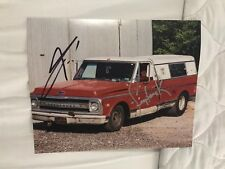 Street Outlaws Farmtruck & AZN Signed 8 X 10 Photo Racing Discovery Channel