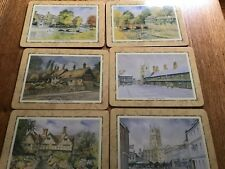 New listing Cloverleaf 6 laminated Stratford Upon Avon table mats in box