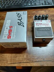 Second Hand Boss SYB 5 bass synthesizer pedal Good working order!