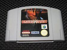 Jeu FIGHTERS DESTINY Nintendo 64 N64 PAL EUR FRA