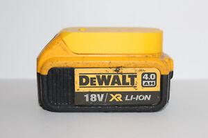 Yellow battery holder / cover for DeWALT XR 18V