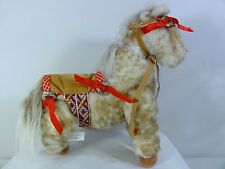 Authentic Vanderbear Traveling Wild West Show Oatsie #418 Plush Horse 1991