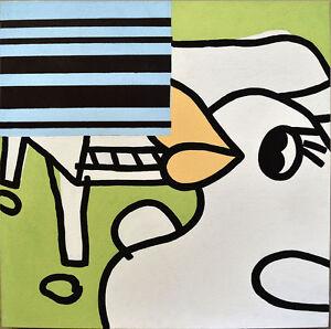 Original Art – COMO 97 Paul McNeil (core MAMBO artist) 70x70cm stretched canvas