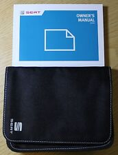 SEAT LEON HANDBOOK COVERS ALSO SC AND ST OWNERS MANUAL WALLET 2013-2018