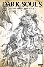 Dark Souls #1 2nd Print Black And White Variant Titan Comics HOT MUST OWN