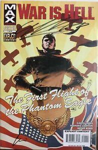 WAR IS HELL #1 Max Comics 2008 Signed Chaykin Ennis COA