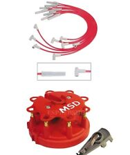 MSD 31329K1 Cap/Rotor/Red Wire Set - Ford 302/351W with MSD or TFI Distributor