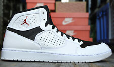Nike Jordan Herrenschuhe Basketballschuhe Turnschuhe Schwarz Weiss Leder 44 45
