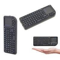 Rii X1 2.4G Wireless Remote Control Mini Keyboard Touchpad_French Azerty