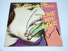 "ROLLING STONES, THE - LOVE YOU LIVE 12"" VINYL 2 LP COC 89101 GAT 1977 HOLLAND"