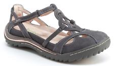 Jambu Spain Charcoal/Pastel Pink Mary Jane Flat Shoe Women's sizes 6-10/NEW