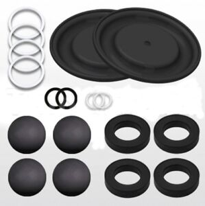 "Repair Kit for Graco Husky 1590 1-1/2"" Diaphragm Pump D0BGGG"