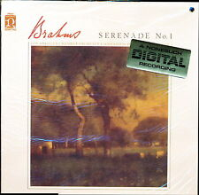 Brahms Serenade No.1 Gerard Schwarz Nonesuch 79065 LP PROMO SEALED