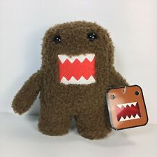 """Domo 6"""" Plush Jakks Small Stuffed Character Toy 2008 Fuzzy Brown Collectible NWT"""