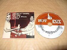 Carlton Patterson & King Tubby Black & White In Dub cd Promo 2007 Ex Condition