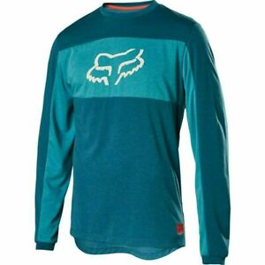 Fox Ranger Dri Release Jersey MTB Blue Size Large.