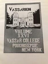 Vassarion yearbook 1914~leather