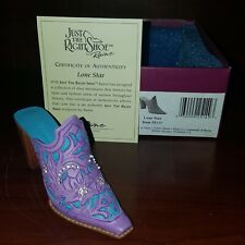 Just The Right Shoe Raine Originals Lone Star #25149 2001 With Box And Coa #16