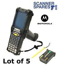 LOT OF 5 Motorola Symbol MC9090-GJ0HBEGA2WR LORAX Long 1D CE Barcode Scanner