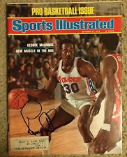George Mcginnis Signed Sports Illustrated Autographed